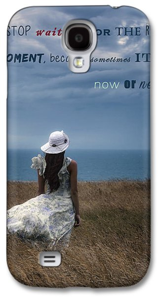 Floating Girl Galaxy S4 Cases - Now Or Never Galaxy S4 Case by Joana Kruse
