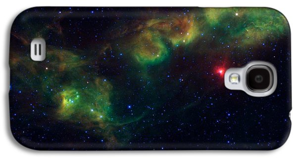 Nu Scorpii Or Jabbah V Sco, 14 Scorpii A Star System In The Constellation Scorpius Galaxy S4 Case by American School