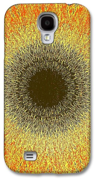 Sun Galaxy S4 Cases - Nuclear Sunflower Galaxy S4 Case by ARTography by Pamela  Smale Williams