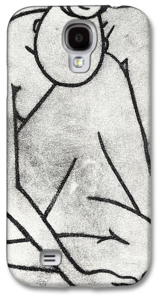 Drypoint Galaxy S4 Cases - Nude - Drypoint Galaxy S4 Case by Liz Hoenstine