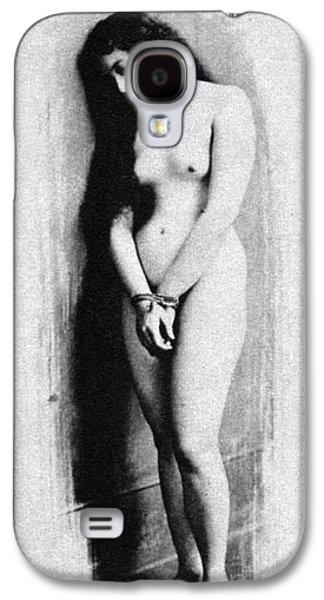 Slaves Galaxy S4 Cases - Nude Slave, 1901 Galaxy S4 Case by Granger