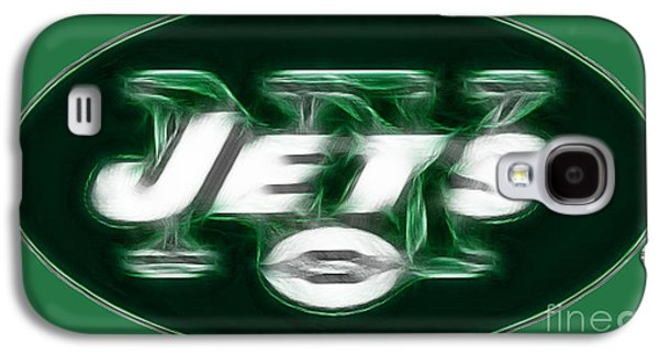 New York Jets Galaxy S4 Cases - NY JETS fantasy Galaxy S4 Case by Paul Ward