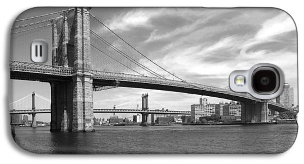 Nyc Brooklyn Bridge Galaxy S4 Case by Mike McGlothlen
