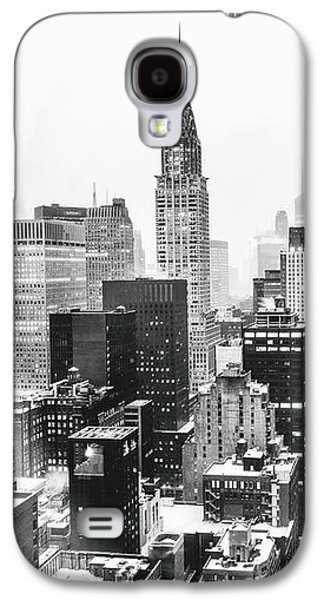 Nyc Snow Galaxy S4 Case by Vivienne Gucwa