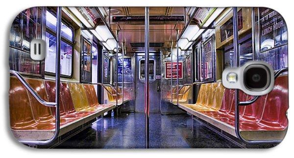 Kelley King Galaxy S4 Cases - NYC Subway Galaxy S4 Case by Kelley King