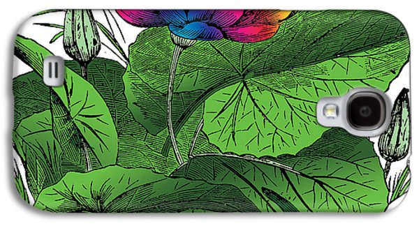 Tree Roots Mixed Media Galaxy S4 Cases - Nymphaea Galaxy S4 Case by Eric Edelman