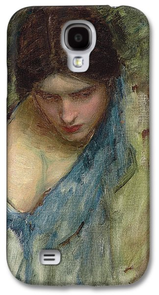 Neo Galaxy S4 Cases - Nymphs Finding the Head of Orpheus Galaxy S4 Case by John William Waterhouse