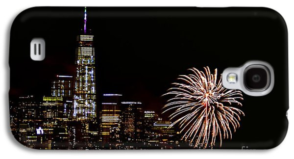 4th July Galaxy S4 Cases - Nyny Galaxy S4 Case by MingTa Li