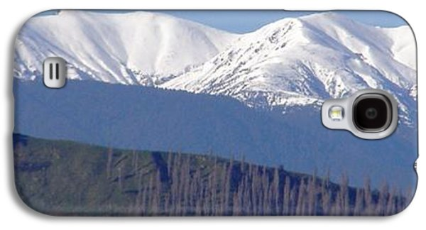 Aotearoa Galaxy S4 Cases - NZ Mountains Galaxy S4 Case by Janice OBrien
