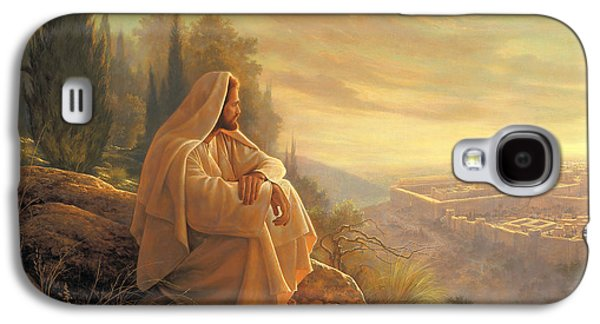 Jesus Art Galaxy S4 Cases - O Jerusalem Galaxy S4 Case by Greg Olsen