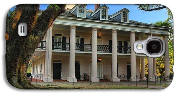 Slavery Galaxy S4 Cases - Oak Alley Mansion Galaxy S4 Case by Adam Jewell