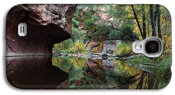 Oak Creek Photographs Galaxy S4 Cases - Oak Creek Canyon Reflections Galaxy S4 Case by Dave Dilli