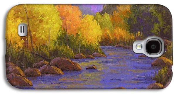 Creek Galaxy S4 Cases - Oak Creek Color Show Galaxy S4 Case by Cody DeLong