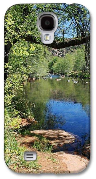 Oak Creek Photographs Galaxy S4 Cases - Oak Creek Galaxy S4 Case by Ellen Henneke