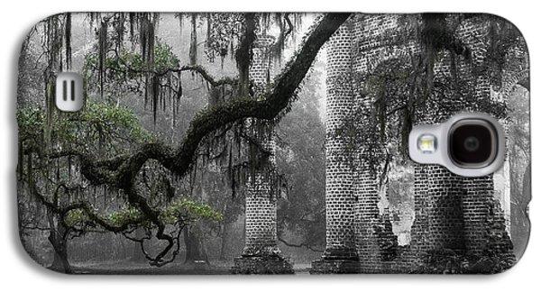 Oak Limb At Old Sheldon Church Galaxy S4 Case by Scott Hansen