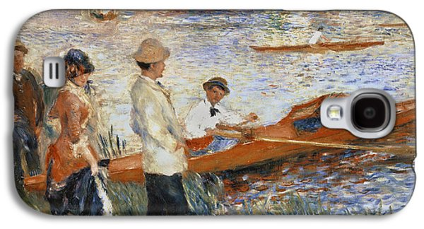 Oarsmen At Chatou Galaxy S4 Case by Pierre Auguste Renoir