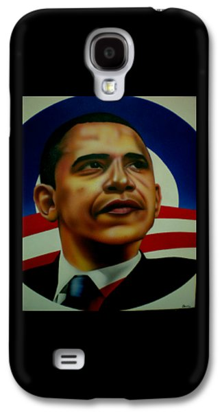 44th President Galaxy S4 Cases - Obama Galaxy S4 Case by Brett Sauce