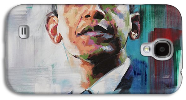Obama Galaxy S4 Case by Richard Day