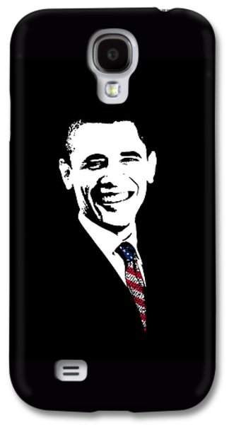 Obama Galaxy S4 Case by War Is Hell Store
