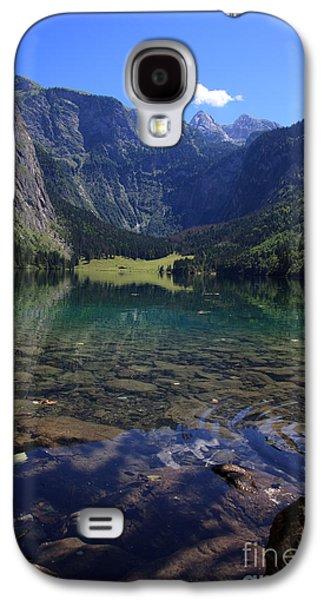 Quiet Galaxy S4 Cases - Obersee Galaxy S4 Case by Nailia Schwarz