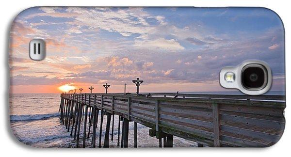 Seascape Galaxy S4 Cases - OBX Sunrise Galaxy S4 Case by Adam Romanowicz
