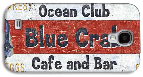 Ocean Club Cafe Galaxy S4 Case by Debbie DeWitt