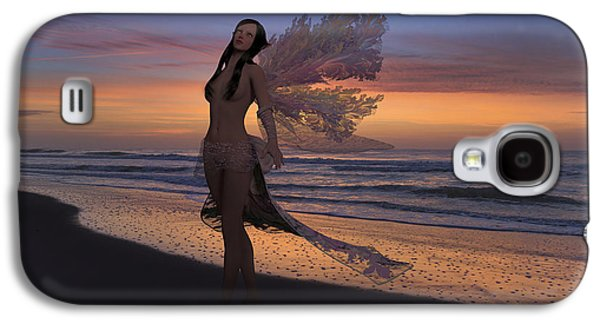 Another Morning Without You Galaxy S4 Case by Betsy C Knapp