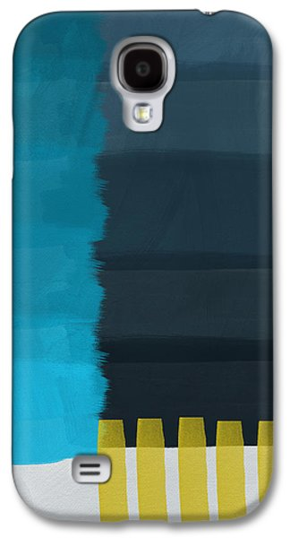 Abstract Landscape Galaxy S4 Cases - Ocean Front Walk- Art by Linda Woods Galaxy S4 Case by Linda Woods