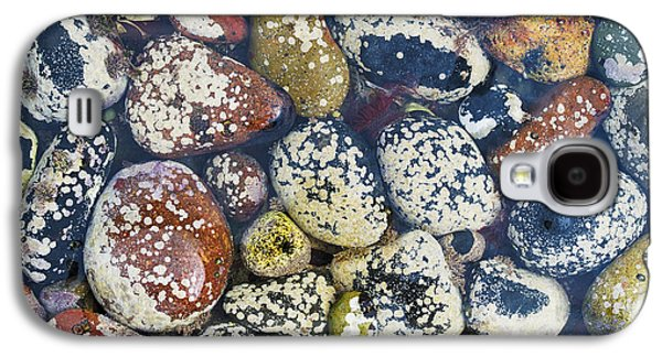 Nature Abstract Galaxy S4 Cases - Ocean Pebbles Galaxy S4 Case by Tim Gainey