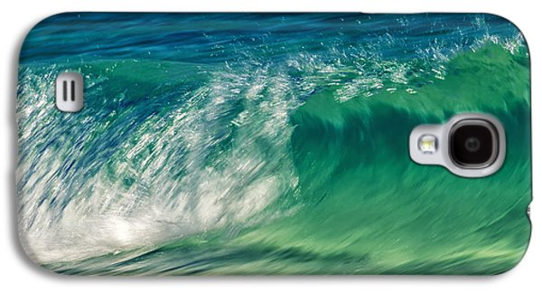 Water Filter Galaxy S4 Cases - Ocean Ripples Galaxy S4 Case by Stylianos Kleanthous
