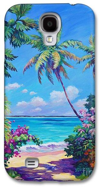 Ocean View With Breadfruit Tree Galaxy S4 Case by John Clark