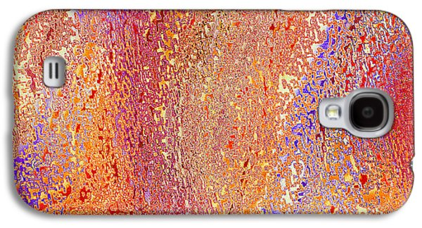 Digital Tapestries - Textiles Galaxy S4 Cases - Oceania Galaxy S4 Case by FabricWorks Studio
