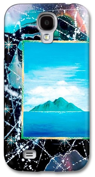 Angel Mermaids Ocean Galaxy S4 Cases - Oceanian Galaxy S4 Case by Lee Pantas