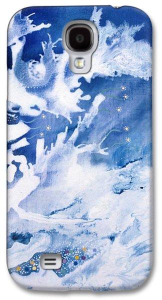 Angel Mermaids Ocean Galaxy S4 Cases - Oceania Galaxy S4 Case by Lee Pantas