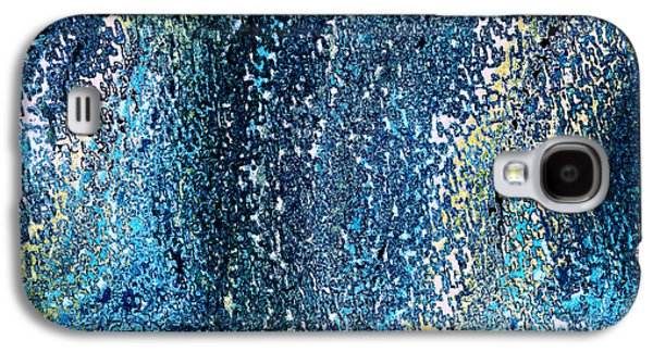 Digital Tapestries - Textiles Galaxy S4 Cases - Oceania Midnight Galaxy S4 Case by FabricWorks Studio