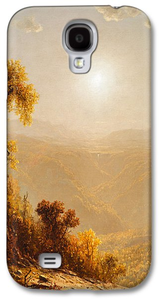 October In The Catskills Galaxy S4 Case by Sanford Robinson Gifford