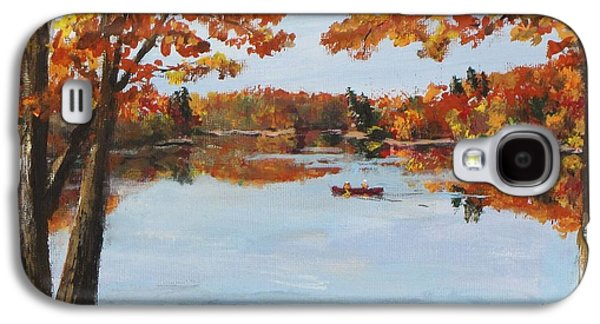 Jack Skinner Galaxy S4 Cases - October Morn at Walden Pond Galaxy S4 Case by Jack Skinner