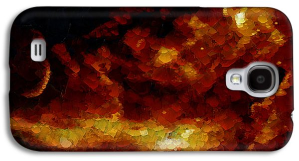 Modern Abstract Galaxy S4 Cases - Oh Sole Mio Galaxy S4 Case by Sir Josef  Putsche Social Critic