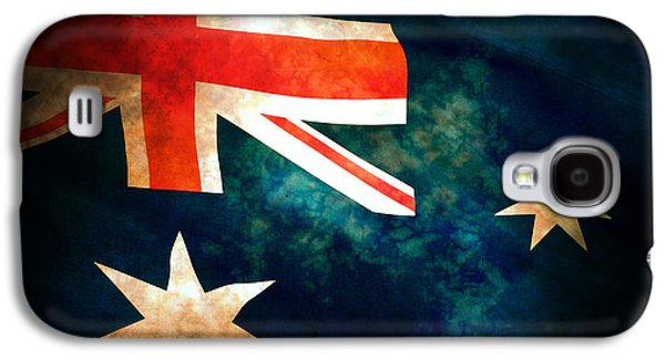 War Galaxy S4 Cases - Old Australian Flag Galaxy S4 Case by Phill Petrovic