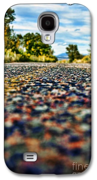 Old Roadway Galaxy S4 Cases - Old Country Road Galaxy S4 Case by Ray Laskowitz - Printscapes