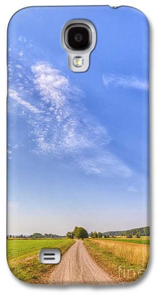 Landscapes Photographs Galaxy S4 Cases - Old Country Road Galaxy S4 Case by Veikko Suikkanen