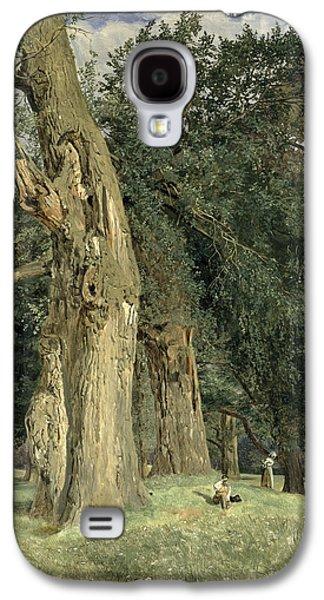 Old Elms In Prater Galaxy S4 Case by Ferdinand Georg Waldmuller