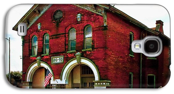 Old Firehouse No. 10 Galaxy S4 Case by Julie Dant