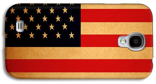 4th July Galaxy S4 Cases - Old Glory . Square Galaxy S4 Case by Wingsdomain Art and Photography