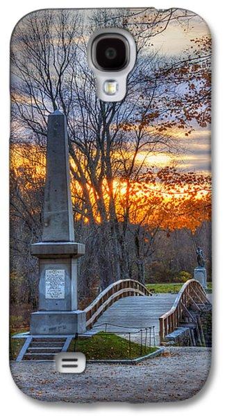 Old North Bridge - Concord Ma Galaxy S4 Case by Joann Vitali