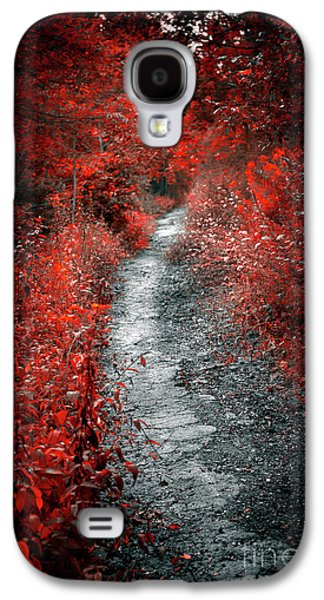 Old Path In Red Forest Galaxy S4 Case by Elena Elisseeva