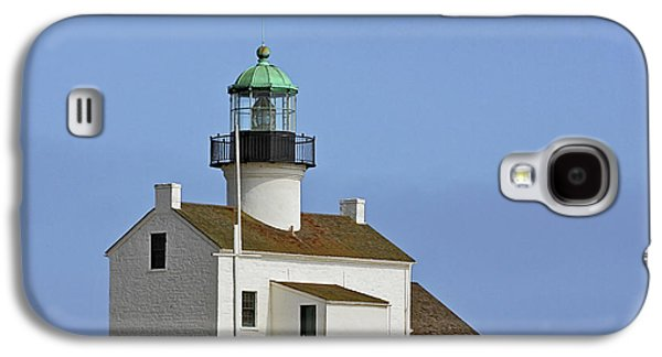Coast Highway One Galaxy S4 Cases - Old Point Loma Lighthouse San Diego California Galaxy S4 Case by Christine Till