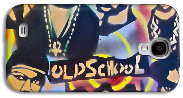 First Amendment Paintings Galaxy S4 Cases - Old School Hip Hop 3 Galaxy S4 Case by Tony B Conscious