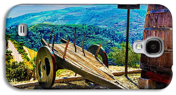 Old Wine Cart Galaxy S4 Case by Rick Bragan