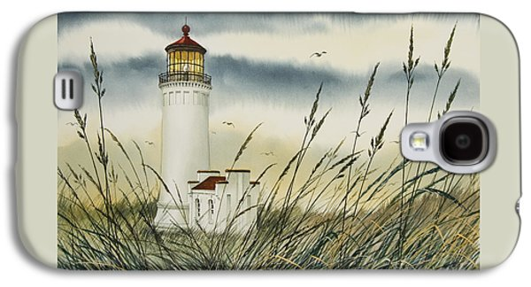 Landscape Framed Prints Galaxy S4 Cases - Olympic Coast Sentinel Galaxy S4 Case by James Williamson
